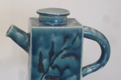 Teal Tea pot